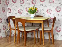 Retro Kitchen Table Sets Dining Table Formica Dining Table Sets Round Laminate Retro And