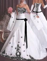 robe de mari e noir et blanc robe de mariée noir et blanc boutique robe d ange wifeo