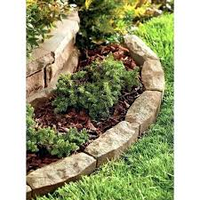 Rocks For Garden Edging Landscape Rock Border Ideas Mreza Club