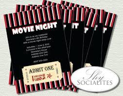 movie night invitations template movie night invitations as well as movie night printable birthday