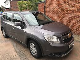 opel orlando chevrolet orlando 7 seater automatic 42k miles pco registered in