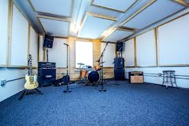 introducing our premium hourly rehearsal room music garage