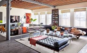 Custom Living Room Furniture 44 Of The Best Living Rooms Of 2016 Photos Architectural Digest