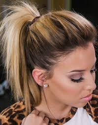 spring 2015 haircut fine hair short ponytails cute hairstyle is a messy undone ponytail that