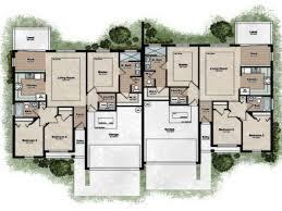 100 simple duplex floor plans duplex house plans at