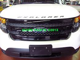 2013 ford explorer upgrades 2011 2015 ford explorer sport front radiator grille gloss black