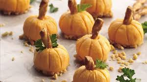 cheddar pumpkin appetizers recipe bettycrocker