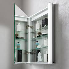 duo 600 illuminated mirrored cabinet in mirrored cabinets luxury