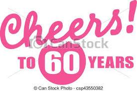 60 years birthday card 60 years birthday card vector elements clipart vector