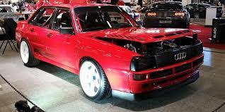 audi quattro horsepower audi sport quattro sedan build wows at bilsport performance
