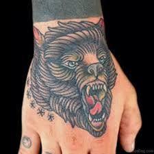 34 nice bear tattoos on hand