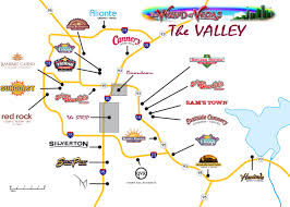 Downtown Las Vegas Map by Las Vegas Maps Wizard Of Vegas
