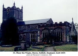 Historical Description Of Suffolk England The Church Of St Mary The Virgin