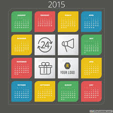 printable yearly calendars for 2015 different ideas elsoar