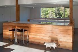 kitchen island breakfast bar house in prospect nova scotia