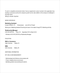 Forbes Resume Template Marketing Assistant Resume Cover Letter For Sales And Marketing