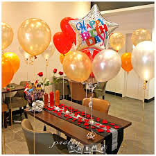 helium birthday balloons pretty theme event planner october 2014