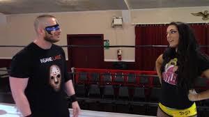 Blind Rage Wrestler Blind Rage Meets Deonna Purrazzo Youtube