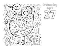 posh coloring 2016 day to day calendar for fun u0026 relaxation