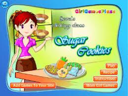 jeux de l ecole de cuisine de l école de cuisine de cookies au sucre un des jeux en ligne