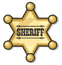 police clipart sheriff pencil and in color police clipart sheriff