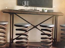 Restoration Hardware Bar Stool Restoration Hardware Industrial Coil Stool Restoration Hardware