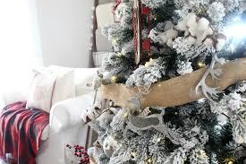 rustic plaid christmas tree the glam farmhouse