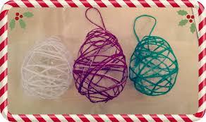 craft woollen baubles s the word