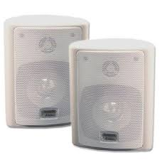 Noise Cancelling Backyard Speakers Acoustic Audio 151w Indoor Outdoor Speakers Review