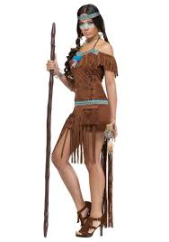 spirit halloween economy shipping pocahontas native indian medicine women thanksgiving costume