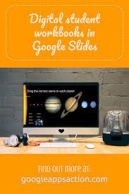 create interactive digital student workbooks with google slides