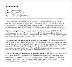 16 business memo templates u2013 free sample example format