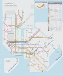 New York Mta Map Alex Koplin Redesigning The Nyc Subway Map