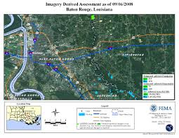 South Louisiana Map by Disaster Relief Operation Map Archives