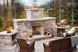 Outdoor Fireplace Canada - diy outdoor fireplace kit home design ideas