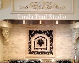 kitchen medallion backsplash kitchen backsplash murals mosaic medallions and accent tiles