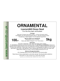 ornamental lawn seed is a great mixture of grasses