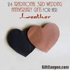 3rd wedding anniversary gifts for traditional 3rd wedding anniversary gifts for leather gift