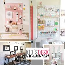 Kids Homework Desk Kid U0027s Desk U0026 Homework Areas The Mombot