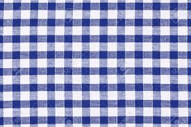 the blue checkered tablecloth stock photo picture and royalty