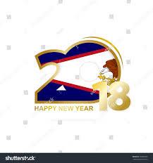 American Samoan Flag Year 2018 American Samoa Flag Pattern Stock Vector 728906782