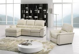 ivory leather reclining sofa ivory leather reclining sectional sofa set couch chaise chair