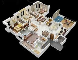 Free House Plans With Pictures Four Bedroom House Plans Home Design Ideas