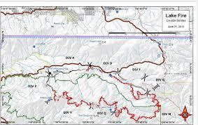san bernardino ca map lake east of san bernardino california wildfire today