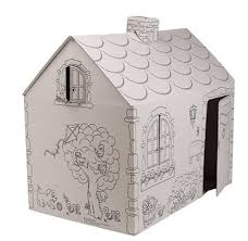 amazon com my very own house coloring playhouse cottage toys