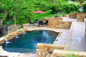 swimming pool backyard landscaping above ground pool outdoor
