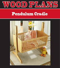 Free Wood Baby Cradle Plans by Peachtree Woodworking Supply