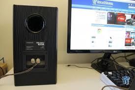 Bookshelf Computer Speakers Creative Sound Blaster E Mu Xm7 Bookshelf Speakers Review