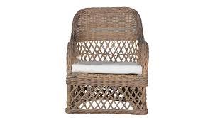 sillón clásico de ratán de jardín wina flamant home interiors