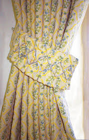 Kitchen Curtains Blue by Yellow And Blue Kitchen Curtains Kitchen Ideas